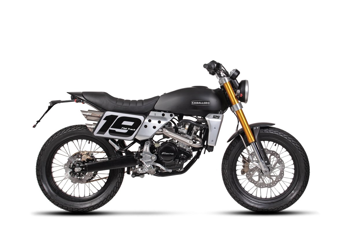 2020 Fantic Caballero Flat Track 125cc Brand New 0% Finance  For Sale (picture 1 of 6)