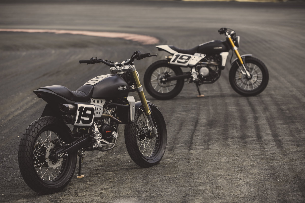 2020 Fantic Caballero Flat Track 125cc Brand New 0% Finance  For Sale (picture 3 of 6)