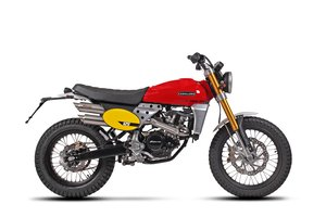 Picture of 2021 Fantic Caballero Scrambler 125cc Brand New UK Delivery For Sale