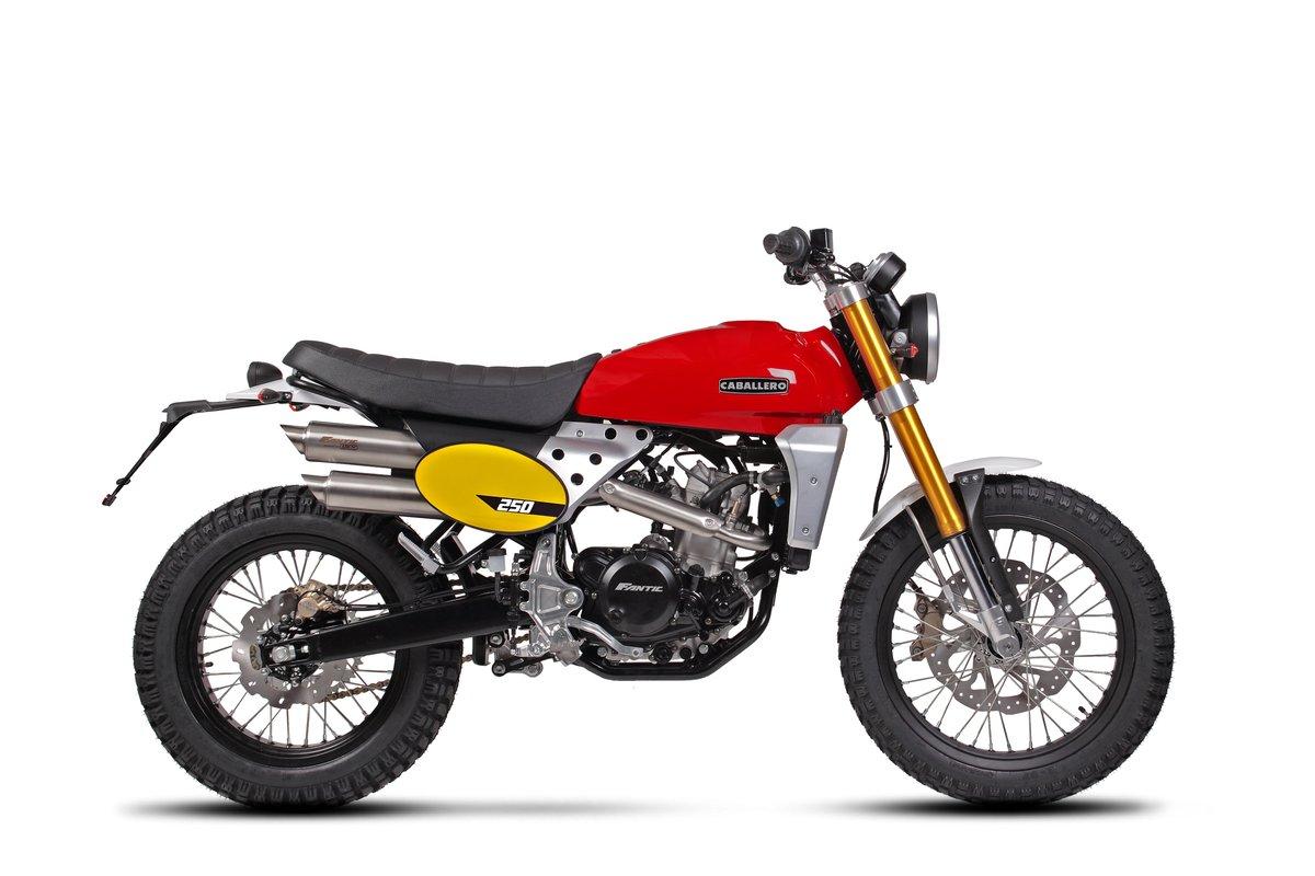 2020 Fantic Caballero Scrambler 250cc Brand New 0% Finance  For Sale (picture 1 of 1)