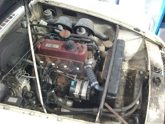1966 MGB Roadster project, 3 owners, original car! SOLD (picture 6 of 6)