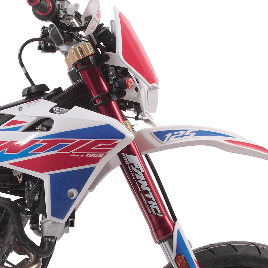2020 Fantic Casa 125M Super Motard Brand New 0% Finance For Sale (picture 2 of 3)