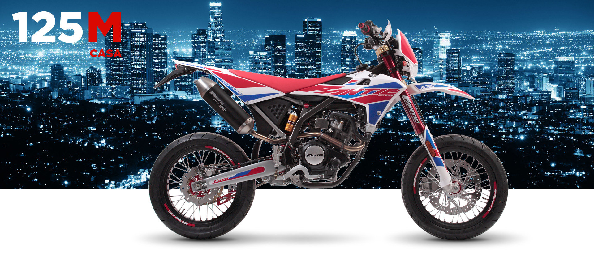 2020 Fantic Casa 125M Super Motard Brand New 0% Finance For Sale (picture 3 of 3)