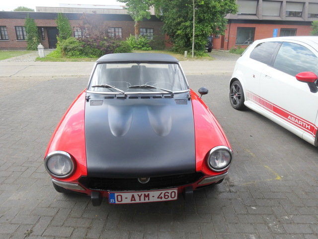 1972 Fiat 124 abarth For Sale (picture 5 of 6)