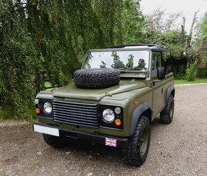 1988 Exportable Stunning Land Rover Ex MOD Soft Top SOLD
