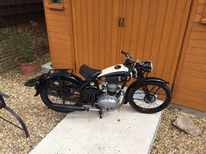 1948 Terrot 125 fully running classic Very rare