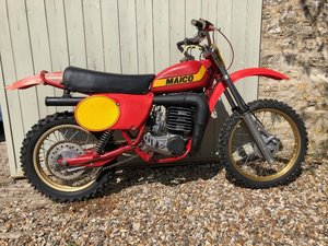 Lot 134 - A 1979 Maico 400 MX twinshock - 10/08/2019 SOLD by Auction