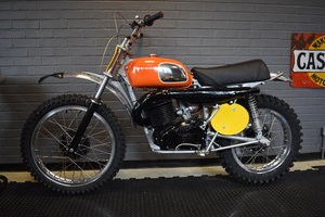Lot 157 - A 1973 Husqvarna 400 Cross - 10/08/2019 SOLD by Auction