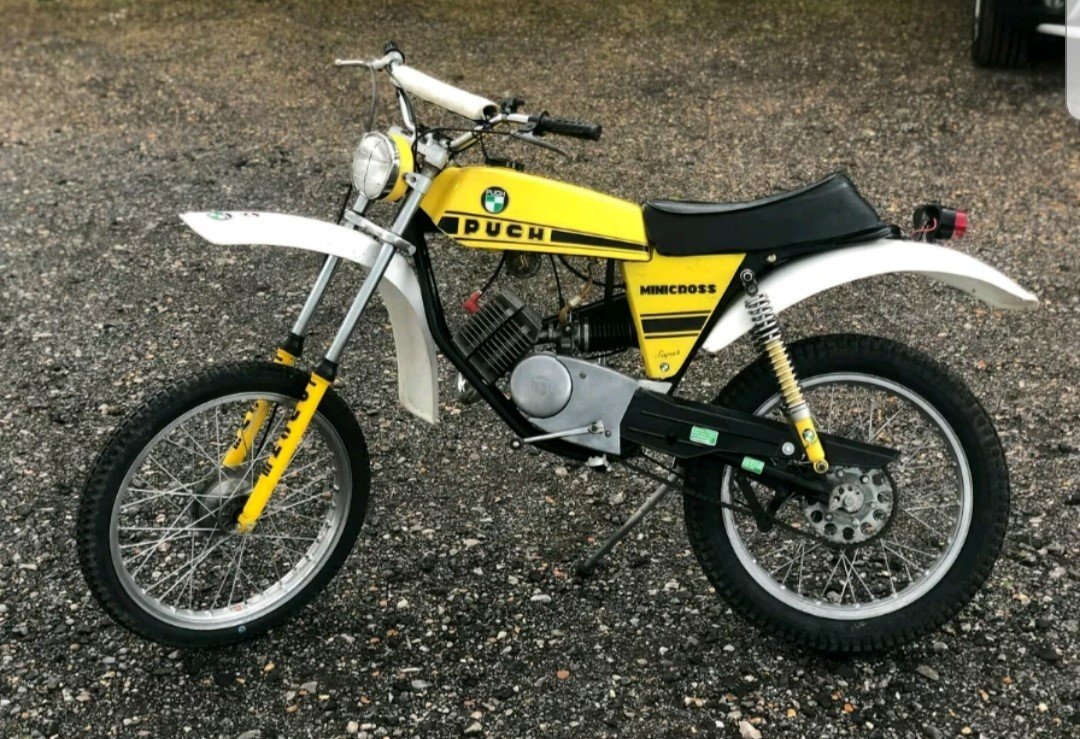 1975 Puch Minicross Super 50 Moped *Mega Rare* For Sale
