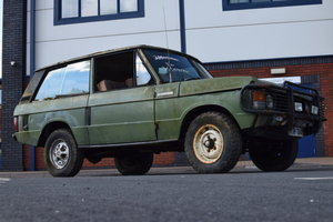 1974 Range Rover Classic Two-Door For Sale by Auction