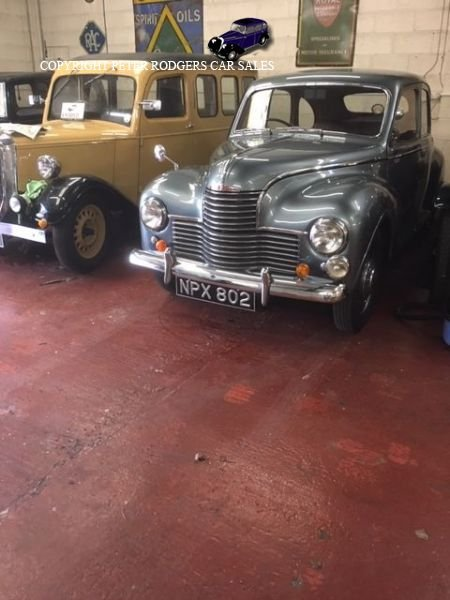 1952 Jowett Javelin Deluxe For Sale (picture 1 of 3)