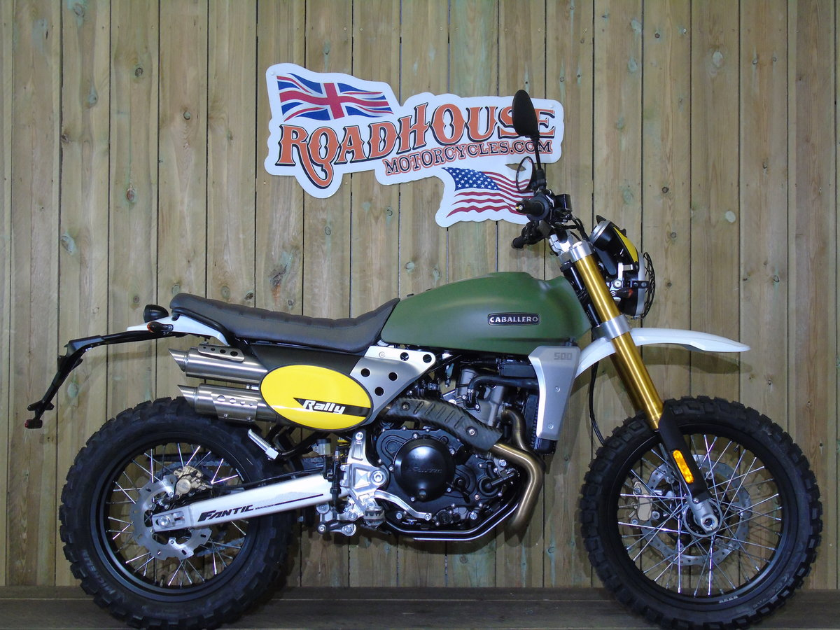 2020 Fantic Caballero Rally 500cc 0% Finance For Sale (picture 1 of 6)