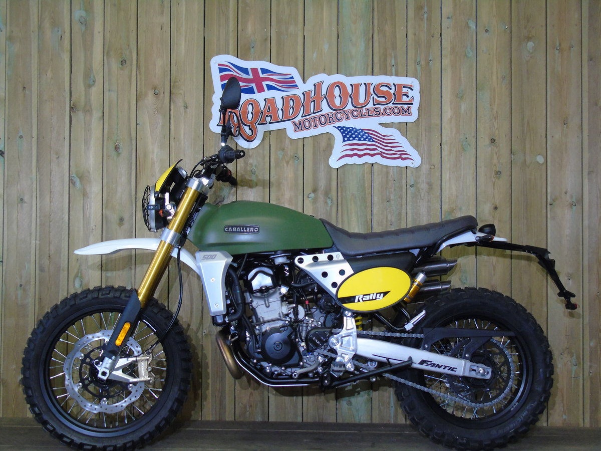 2020 Fantic Caballero Rally 500cc 0% Finance For Sale (picture 2 of 6)