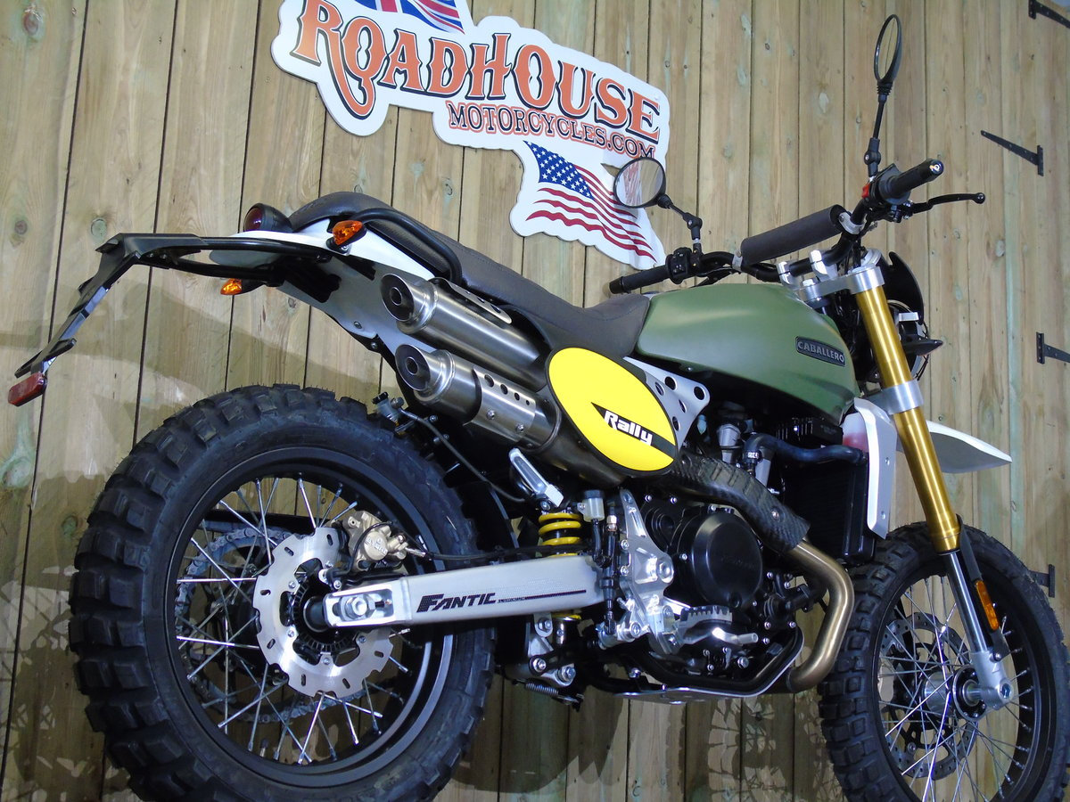 2020 Fantic Caballero Rally 500cc 0% Finance For Sale (picture 4 of 6)