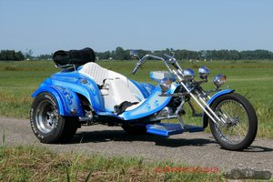 1988 CCS Magic Trike painted in unique blue metallic color For Sale