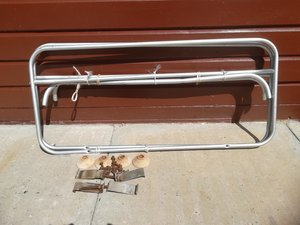 OLDER STYLE ROOF RACK / LUGGAGE CARRIER