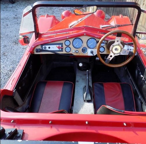 1984 Marlin Roadster SWB, 1800cc, trials modified SOLD (picture 3 of 6)