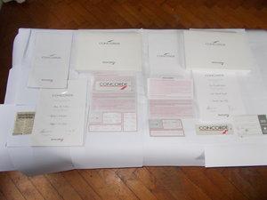 1995  2 X BRITISH AIRWAYS CONCORDE FLIGHT PACK  For Sale