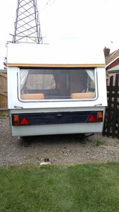 1969 Thomson t-line mini glen caravan
