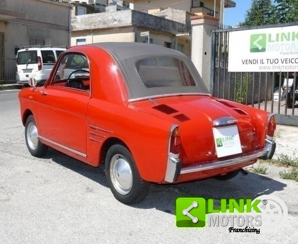 Autobianchi Bianchina Trasformabile 1962 For Sale (picture 4 of 6)