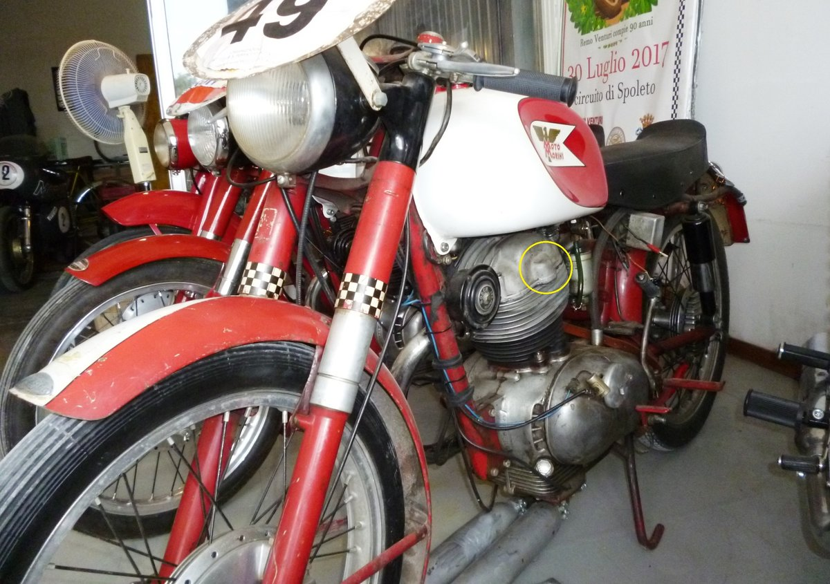 1956 Morini 175 Settebello Moto Giro For Sale (picture 3 of 6)