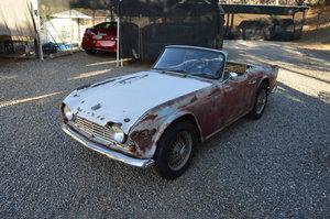 1962 Triumph TR4 SOLD