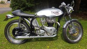 1956 Triton T110 650cc Motorcycle