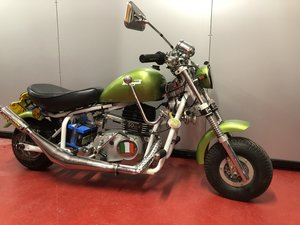 1975 MALAGUTI MINI CHOPPER DISABLED CONTROLS UNUSED!  For Sale