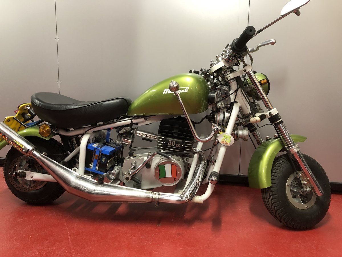 1975 MALAGUTI MINI CHOPPER DISABLED CONTROLS UNUSED!  For Sale (picture 2 of 6)