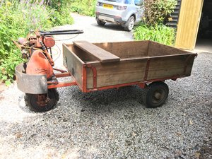Wrigley Three wheel truck  purchased 6 th July1959 For Sale
