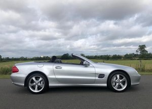 2003 Mercedes-Benz SL600 For Sale by Auction