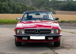 1989 Mercedes-Benz 300 SL Roadster SOLD by Auction