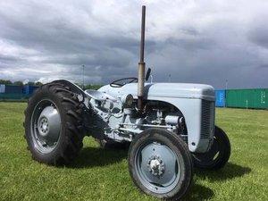 1954 Ferguson TEA-20 Petrol Tractor at Morris Leslie Auction For Sale by Auction