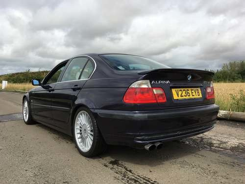 1999 Alpina B3 BMW at Morris Leslie Auction 17th August SOLD by Auction (picture 2 of 6)
