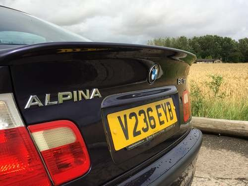 1999 Alpina B3 BMW at Morris Leslie Auction 17th August SOLD by Auction (picture 3 of 6)