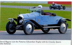1923 Crossley 19.6 Sports Tourer Rare