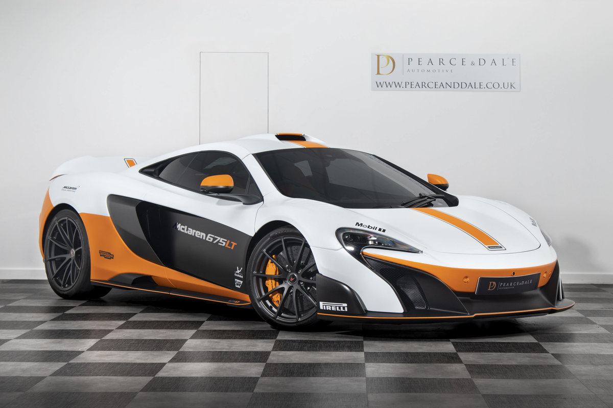 2016 / 16 McLaren 675 LT MSO COUPE SOLD (picture 1 of 6)