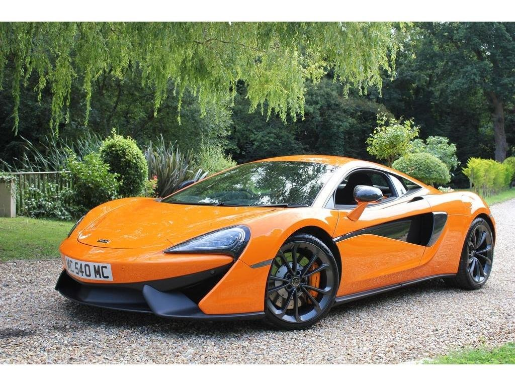 2019 McLaren 540C 3.8T V8 SSG (s/s) 2dr AS NEW, AMAZING VALUE! For Sale (picture 1 of 1)