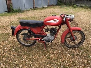 1958 Moto morini 98 Sbarazzino classic bike project motorcyle For Sale