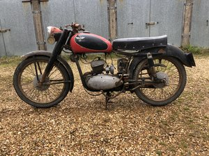 1961 Moto morini 125 2 stroke classic bike project For Sale