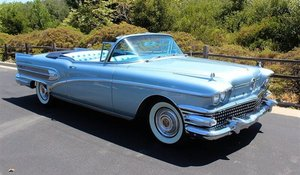 1958 Buick Roadmaster 75 Convertible Power Top Rare AC $95k For Sale