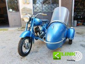 ISOMOTO 125 Sidecar, anno 1951, completamente restaurato, u