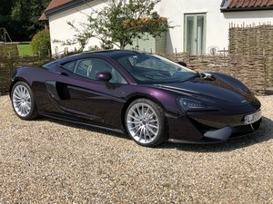 2017 Mclaren 570GT Cobalt Violet For Sale