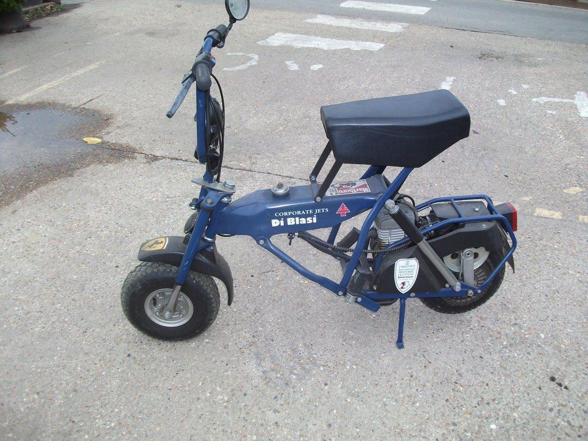 1995 PIT BIKE DI BLASI R7 50cc !995 Zero Mls FOLDING BIKE !!!!! For Sale (picture 1 of 6)