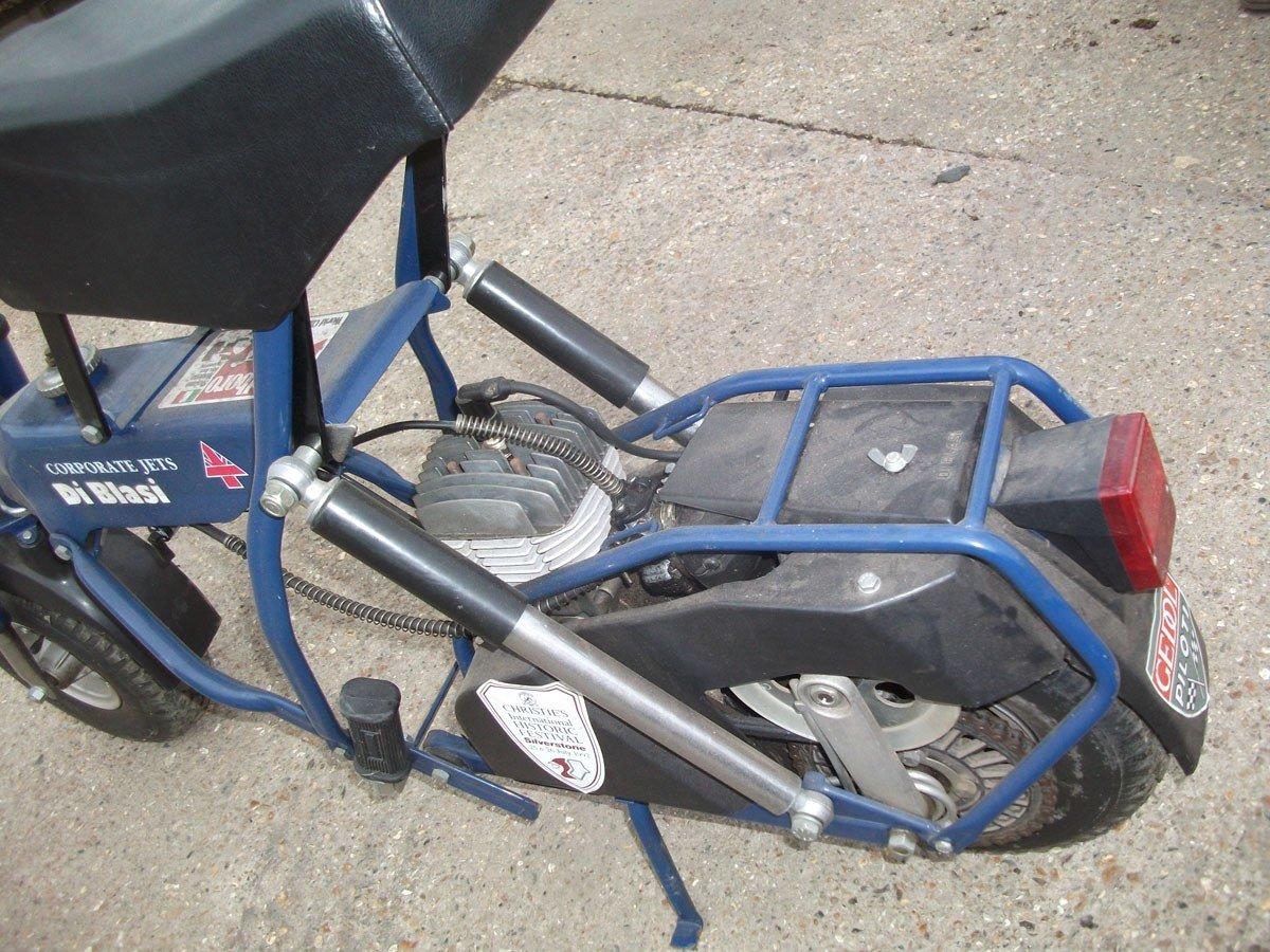 1995 PIT BIKE DI BLASI R7 50cc !995 Zero Mls FOLDING BIKE !!!!! For Sale (picture 3 of 6)