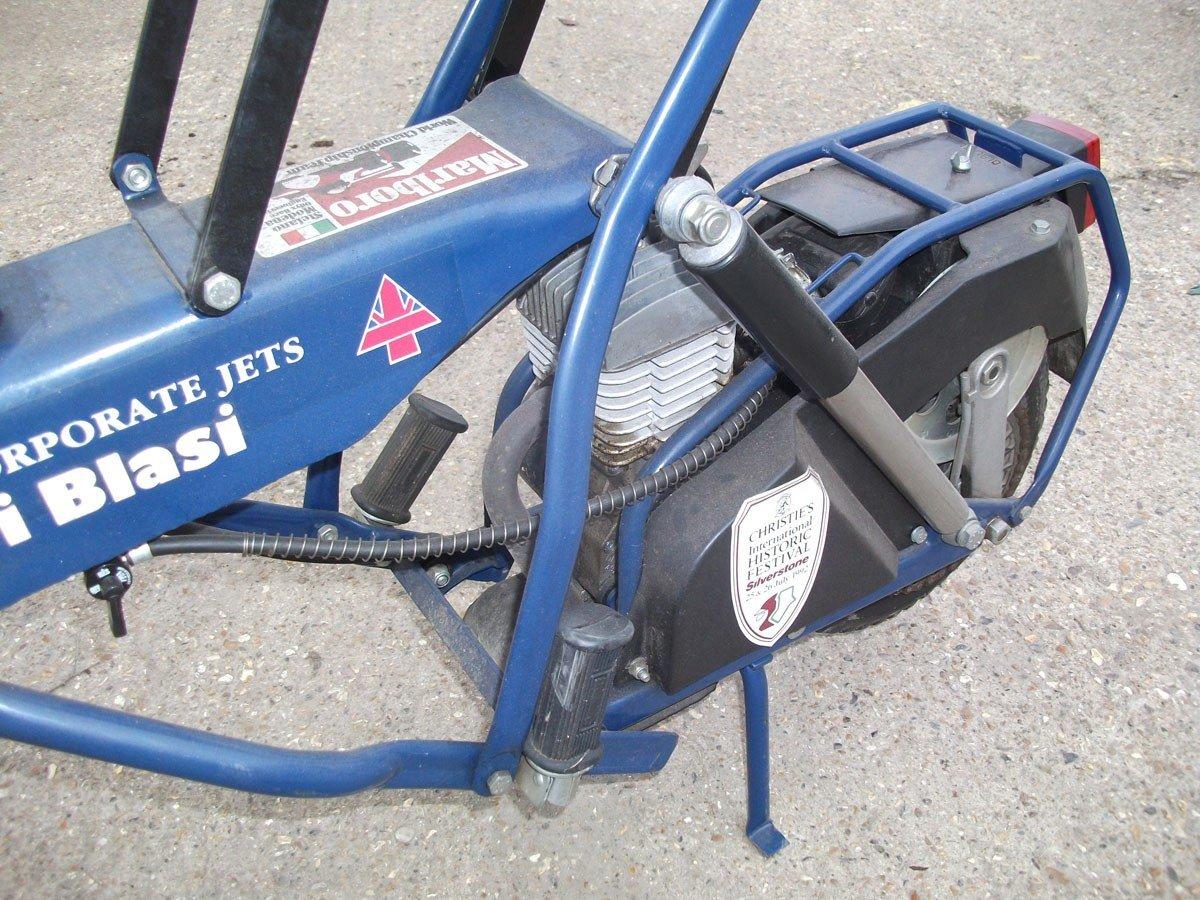 1995 PIT BIKE DI BLASI R7 50cc !995 Zero Mls FOLDING BIKE !!!!! For Sale (picture 4 of 6)