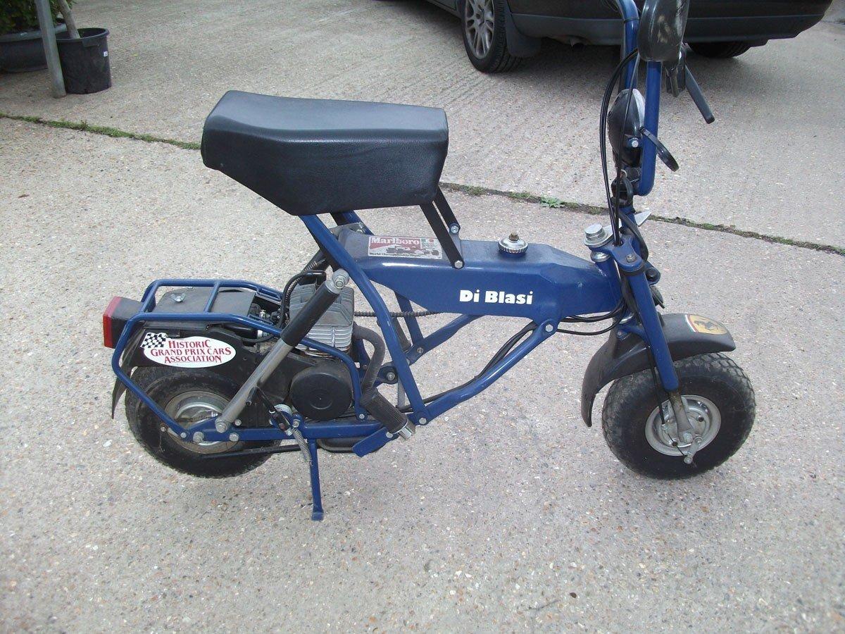 1995 PIT BIKE DI BLASI R7 50cc !995 Zero Mls FOLDING BIKE !!!!! For Sale (picture 6 of 6)