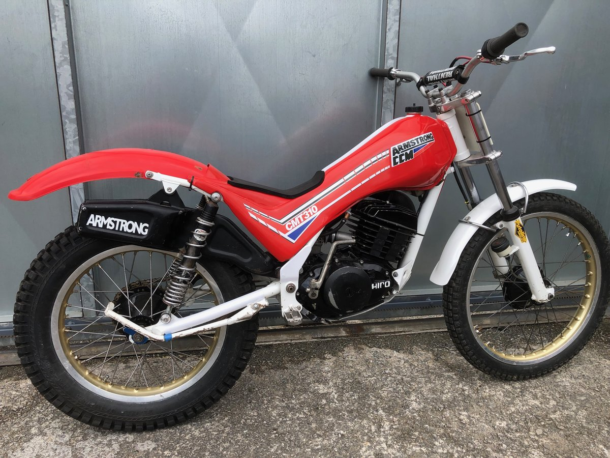 1985 CCM ARMSTRONG HIRO RARE & VERY TIDY TRIALS £2895 OFFERS PX For Sale (picture 4 of 6)