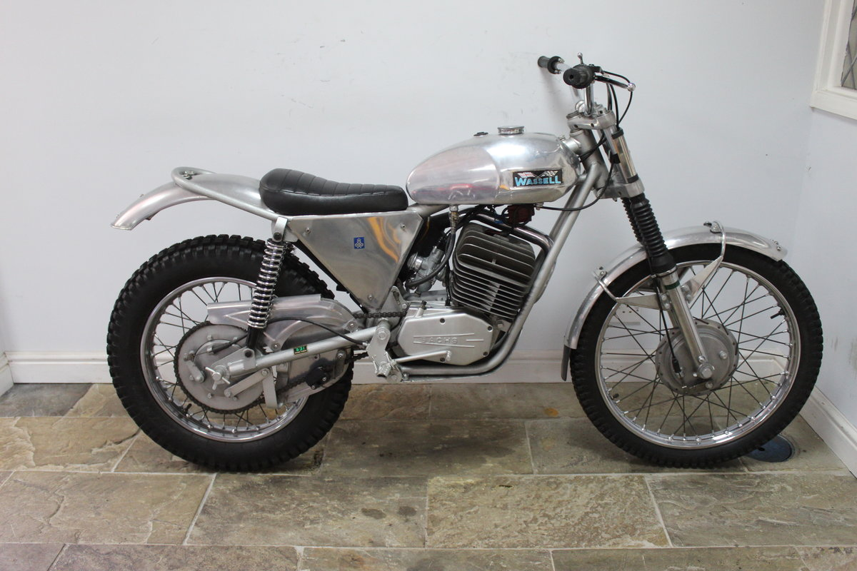 1973 Wassell Antelope Low Fender Trials bike For Sale (picture 1 of 6)