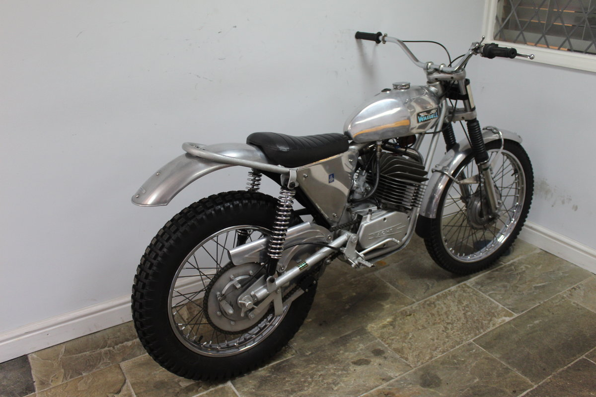 1973 Wassell Antelope Low Fender Trials bike For Sale (picture 2 of 6)